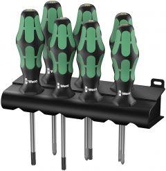 335/350/367/7 Rack Schraubendrehersatz Kraftform Plus Lasertip + Rack Rack 05320540001