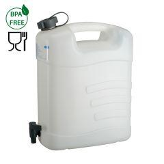 Pressol Wasserkanister 15L HDPE mit Ablasshahn