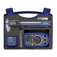 6-teiliges Mess-Set im PVC-Koffer