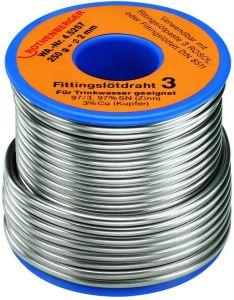 Fittingslot 3, 2mm, 250g, Spule 45257