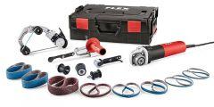 BRE 8-4 INOX Set Rohrbandschleifer und Bandfeile TRINOXFLEX im Set