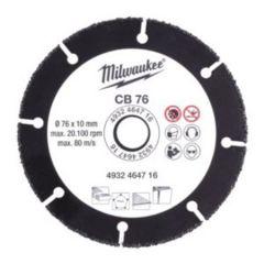 4932464716 HM-Bestückte Trennscheibe (Carbide) 76 x 10 mm