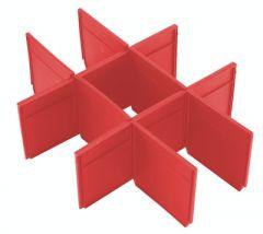 Einlage für die Packout-Werkzeugkoffer mit 2 Schubladen 4932479105