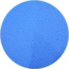 49800 Schwammscheibe mit Klett, blau 350 mm