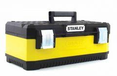 """1-95-614 Stanley Werkzeugbox Metall-Kunststoff,26"""""""