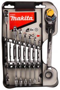 B-65523 8-teiliger Maul-Ringratschenschlüssel 8-19mm
