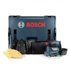 GSS 18V-10 Professional Akku-Schwingschleifer 18V, 5,0Ah + Koffer 06019D0201