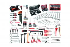 CM.140A Sortiment für Industriele Wartung 200 Werkzeuge mit Schaumstoffmodulen 1/3 (x18