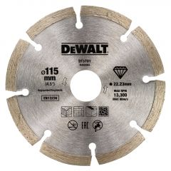 DT3711-QZ Segmentierte Diamanttrennscheibe125 x 22,2 mm für Trockenschnitt