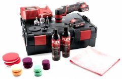 PXE 80 10.8-EC/2.5 P-Set Poliermachine 10.8 Volt 2.5 Ah Li-ion + Zubehör