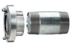 Storzkupplung 1 1/2 mit Verlängerungsrohr 100 mm (