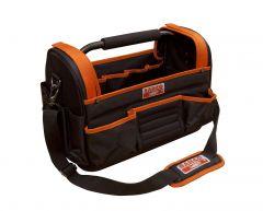 Offene Stoff-Werkzeugtasche mit festem Boden, 24l, 300mm×240mm×410mm 3100TB