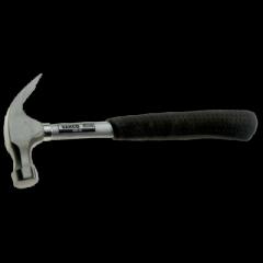 Klauenhammer mit Gummigriff und Stahlschaft 450 g 429-16