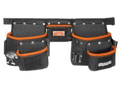 """Gürtel-Set mit drei Taschen für Taillengrößen bis 48"""" 4750-3PB-1"""