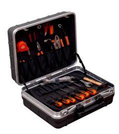 Stabiler Hartschalenkoffer mit Allzweck-Werkzeugsatz – 32-teilig 983100320