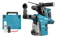 DHR281ZWJ Akku Bohrhammer mit absaugung 3 Funktionen 2 x 18 Volt Ohne akku und Ladegerät