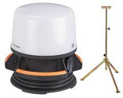 ORUM 4000 M Mobiler 360° LED-Strahler + Stativ