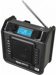 SolidDigital Baustellenradio mit DAB+