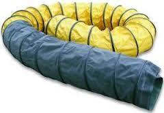 Wärmeschläuche PVC schwarz-gelb 610 mm 7,6 mtr