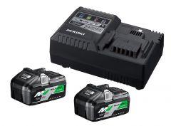 UC18YSL3WFZ BoosterPack - 2 x BSL36B18 Multivolt-Akku 36V 4.0Ah / 18V 8.0Ah Li-Ion + UC18YSL3 Schnellladegerät