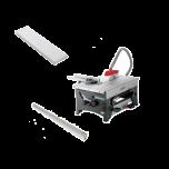 ERIKA70EC Unterflur-Zugsäge inkl. Zusatz- und Frästisch und 2 Auflage- und Halteschienen, 1000 mm 971413