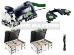 Dübelfräse DOMINO XL DF 700 EQ-Plus 574320 + Sortiment SYSTAINER 498204 + Sortiment SYSTAINER 498205 + LA-DF Leistenanschlag 493487