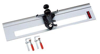 Treppenwangen-Fräsgerät mit 1 m Führungslineal und 2 Schraubzwingen