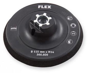 Velcro Schuurschijf 115 mm Komvormig