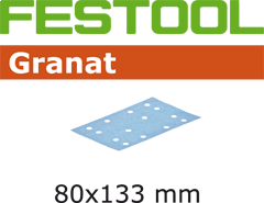Schleifstreifen STF 80x133 P60 GR/50 497118