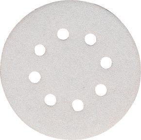 Schleifblatt 125 mm Korn 240 Weiß 10 Stk