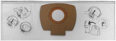 Filtersack Papier VC3011L/2512 5 Stk. P-72899
