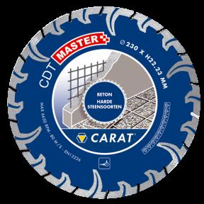CDTM125300 DiamanttrennscheibeTURBO CDT MASTER 125x22.2MM