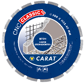 CNCC350400 DiamanttrennscheibeBETON CNC CLASSIC 350x25,4MM