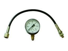 Manometer mit Schlauch 0-0,6 bar