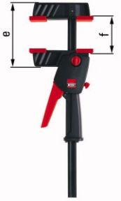 DUO30-8 DuoKlamp DUO Einhandklemme 0-300mm