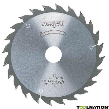 Sägeblatt-HM 120 x 1,2/1,8 x 20 mm, Z 24, WZ, für universellen Einsatz in Holz