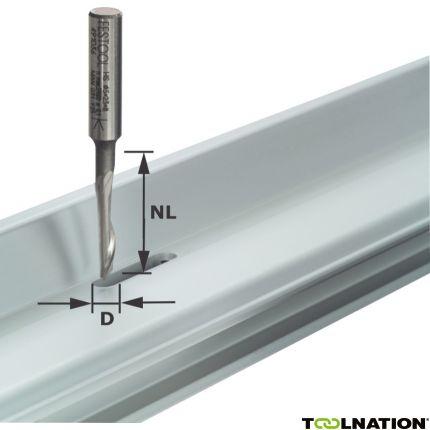 Aluminiumfräser HS S8 D5/NL23 491036