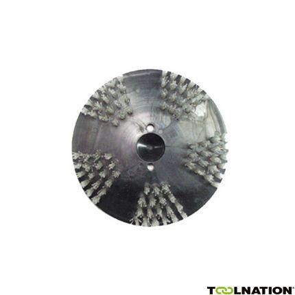 22500 Stahl / Nylonbürsten 200mm