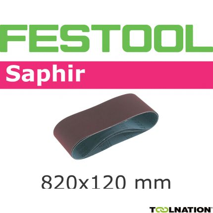 Schleifband 820x120-P120-SA/10 488084