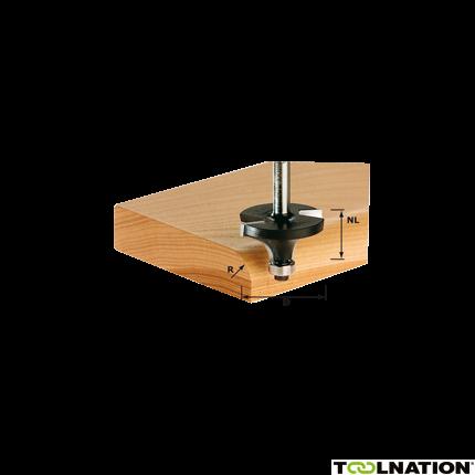 Abrundfräser HW S8 D31,7/R9,5 KL 491015