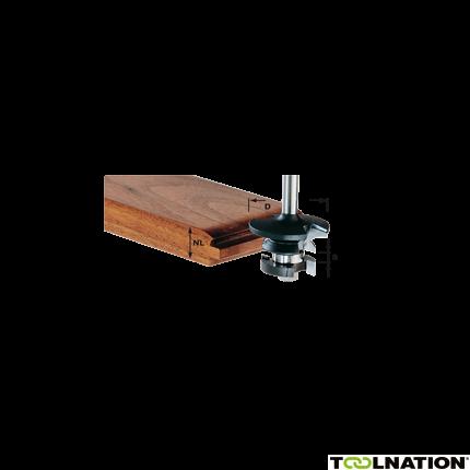 Konterprofilfräser Nut HW S8 D43/21 A/KL 491129