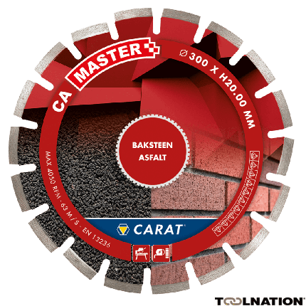 CAM3004000 Diamanttrennscheibe ASPHALT CA MASTER 300x25,4MM