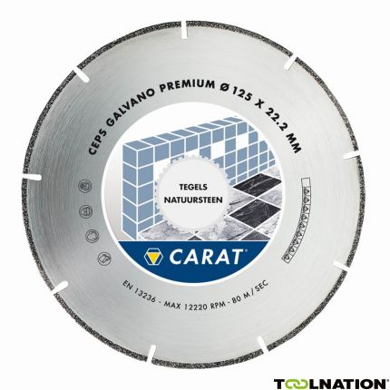 CEPS125300 Diamanttrennscheibe GALVANO PREMIUM 125x22,2MM, TYP CEPS