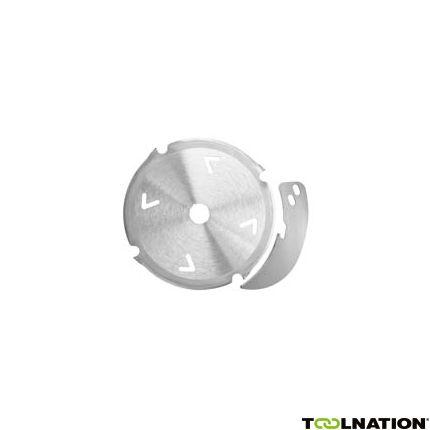 Diamantsägeblatt-Set 160 x 2,4/3,0 x 20 mm, Z 4, FZ/TR, inkl. Spaltkeil für zementgebundene Werkstoffe