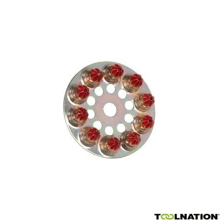 Munition Rot 6,3/10 100 Stück
