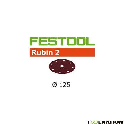 Schleifscheiben STF D125/8 P80 RU2/50 499095
