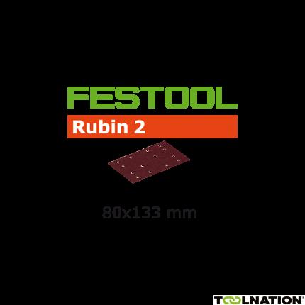 Schleifstreifen STF 80X133 P120 RU2/50 499050