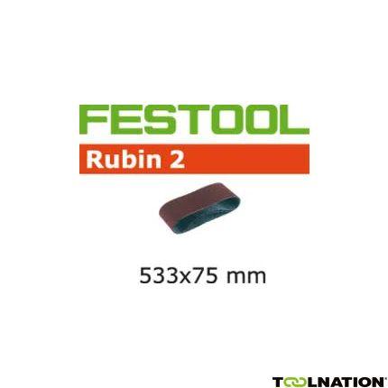 Schleifband L533X 75-P80 RU2/10 499157