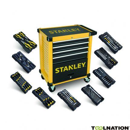 STHT6-80442 Transmodul Werkzeugwagen 4 Schubladen gefüllt mit 9 Modulen!