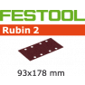 Schleifstreifen STF 93X178/8 P120 RU2/50 499065